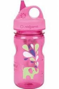 Otroška steklenička Nalgene Grip'n'Gulp Elephant