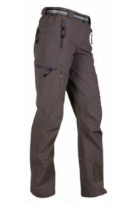 Ženske planinarske hlače Milo Vino, produžen model