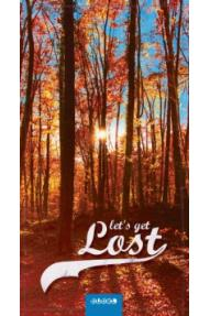 Bubel Get Lost Compact towel