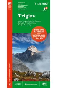 GeaGo map Triglav 1:25.000