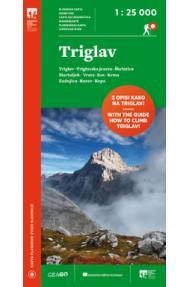 GeaGo map Triglav 1:25.000