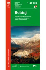 Landkarte GeaGo Bohinj 1:25.000