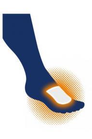 Grelni vložek za stopala Therm-ic