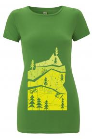 Lady t-shirt Hybrant Just a Hill