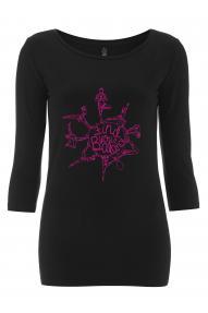 Ženska majica 3/4 Hybrant Find your Balance