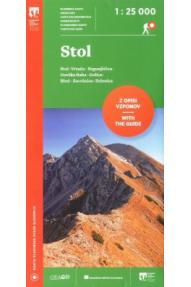 Hiking map Stol 1:25 000