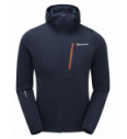 Fleecejacke Montane Power Up Hoodie