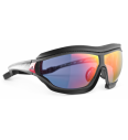 Športna sočna očala Adidas Tycane Pro Outdoor L AF H Red Mirror