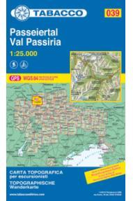 Landkarte 039 St. Martin - St. Leonhard- Tabacco