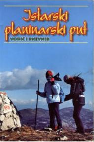 Istarski planinarski put map 1:50 000