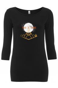 Ženska majica s 3/4 rokavi Rise&Shine Hybrant