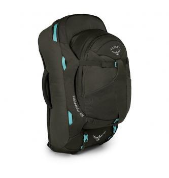 Women travel backpack Osprey Fairview 55