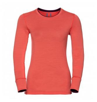 Women long sleeve shirt Odlo Merino Warm 200