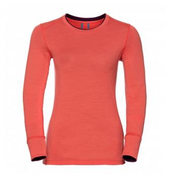Women long sleeve shirt Odlo Merino Warm 200