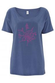 Frauen T-shirt mit kurzen Ärmeln Hybrant Find your Balance
