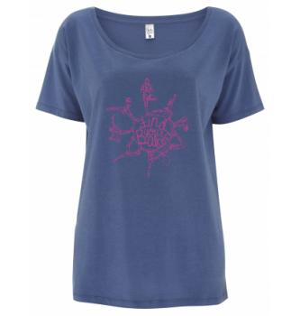 Ženska majica s kratkimi rokavi Hybrant Find your Balance