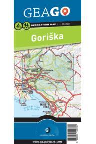 Sporttreiben Landkarte GeaGo Goriška 1:50 000 (Papier Landkarte)