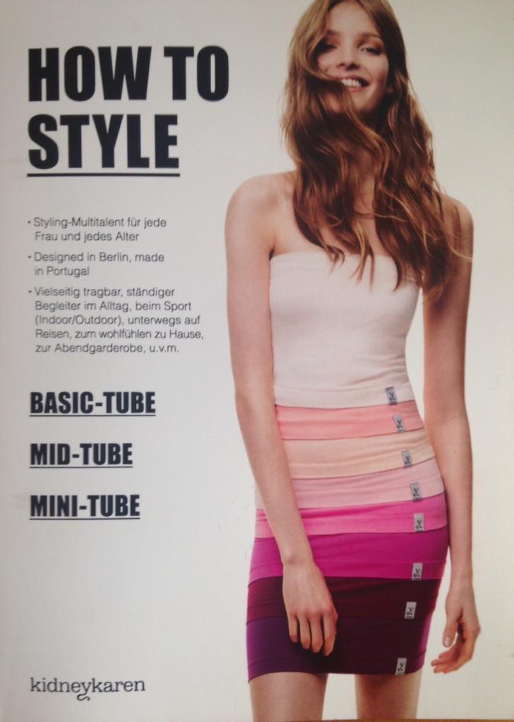 einzeln oder im 2er und 3er Pack Multitube made in Europe T-Shirtverl/ängerung und Nierenw/ärmer kidneykaren basic tube /Öko-Tex-Standard 100