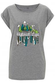 Women T-shirt Hybrant Hybird Life II