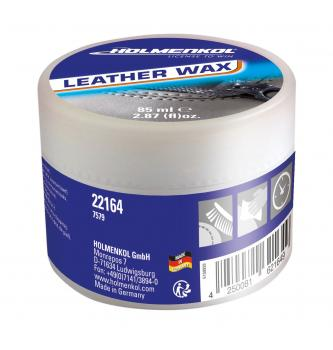 Vosek za obutev Holmenkol Leather Wax 85 ML