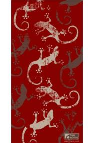 Multifunctional Scarf Trekmates Gecko Deep Red