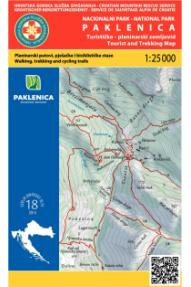 Zemljovid HGSS Nacionalni park Paklenica 18