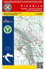 Zemljevid HGSS Ćićarija 19