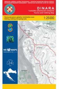 Zemljevid HGSS Dinara 24