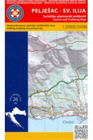 Landkarte HGSS Halbinsel Pelješac 26