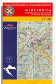 Landkarte HGSS Medvednica 01