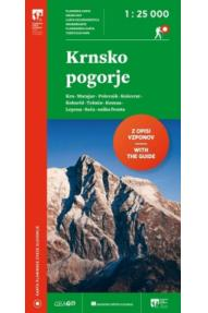 Map of Krnsko pogorje 1:25 000