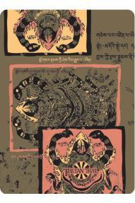 Multifunktionale Kopfbedeckung 4fun Tibetan Scorpio
