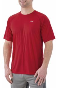 Muška aktivna majica kratkih rukava Outdoor Research Echo
