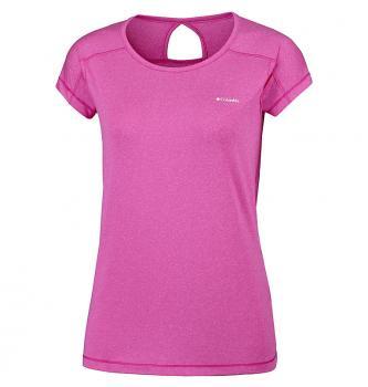 Ženska aktivna kratka majica Columbia Peak to point