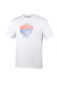 Männer T-Shirt Columbia Mountain Sunset