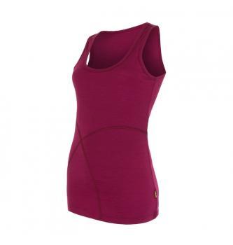 Ženska merino majica brez rokavov Sensor Active