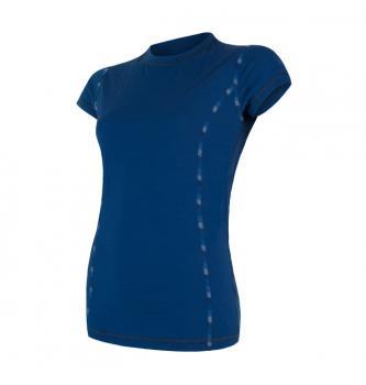 Ženska majica s kratkimi rokavi Sensor Merino Air