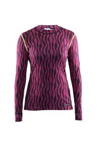 Aktives Frauen Langarmshirt Craft Zebra