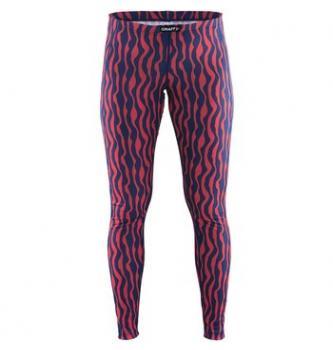 Women active long underpants Craft Zebra