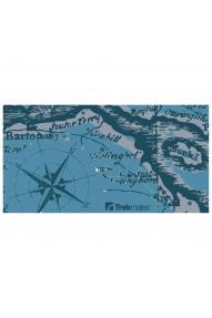 Višenamjenska marama Trekmates Polar Compass Teal