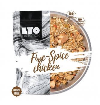 Dehidriran obrok LYO Piščanec s petimi začimbami in riž 370g