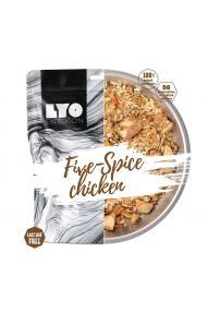 Gefriergetrocknete Mahlzeit LYO Brathänchen mit fünf Gewürzen und Reis 370 g