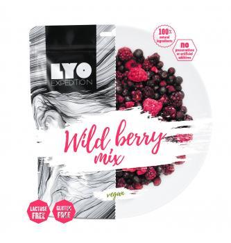 Dehidrirana hrana LYO Mešanica divjih jagod 30g