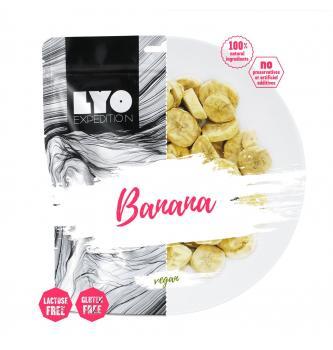 Dehidrirana hrana LYO Banana 30g