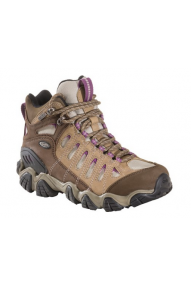 With a rugged construction and soft cushioning, the Oboz Sawtooth Low BDry women's hiking shoes may be the most-used shoes in yo