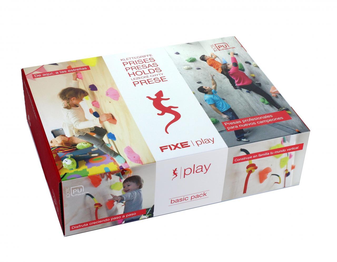 Kletterausrüstung Set Kinder : Kinder klettergriffe set kit fixe play basic kibuba abenteuer