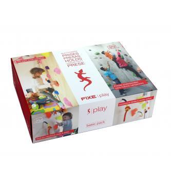Set otroških plezalnih oprimkov KIT FIXE PLAY Basic