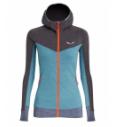 Women's Salewa Puez 2 Dry zip fleece jacket
