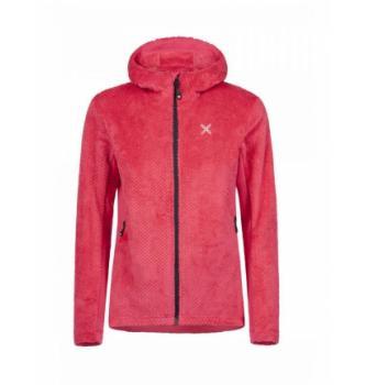 Ženska topla jakna s kapuljačom Montura Soft Pile