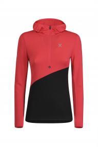 Ženska jakna s kapuljačom Montura Run soft zip Hoody